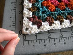 The same concept applies to irregularly-shaped pieces, too.  You need:  * Completed pieces of crochet or knitting work * A flat surface (like a blocking board [used here], bed, carpet, or stack of towels) * Rustproof pins * Spray bottle filled with tepid water  Blogged here.