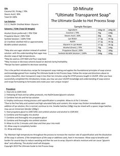 """ultimatehpsoap May 2019 5 min read Easy DIY Clear Soap- Learn How to Make our """"Ultimate Transparent Soap"""" in Less than 10 Minutes! Liquid Soap Making, Clear Glycerin Soap, Soap Colorants, Homemade Soap Recipes, Soap Base, How To Make Diy, Goat Milk Soap, Home Made Soap, Ten Minutes"""