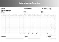 Microsoft Office Expense Report Template Cool 15 Free Salary Slip Templates  Printable Word Excel & Pdf .