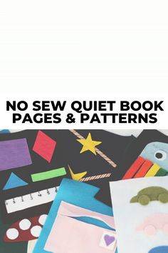 Are you wondering how to make a no sew quiet book or where to find templates and patterns? Then you'll want to check out these 10 DIY no sew quiet book pages and ideas. Includes printable patterns and instructional tutorials on how to assemble the different pages. You can finally make that busy book that you've been wanting to make for your toddlers! #quietbook #quietbooks #nosew #quietbookpages #busybooks #busybook Homemade Books, Educational Toys For Toddlers, Quiet Book Patterns, Felt Quiet Books, Baby Learning, Busy Book, Book Pages, Cool Kids, Bugs