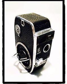 Cinepresa movie camera vintage Paillard Bolex 8 mm Model L8 1945 | eBay