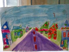 Mark Chagall one point Perspective