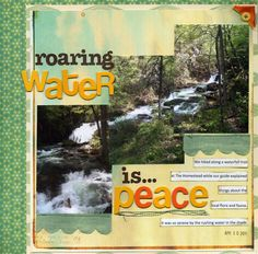 Ideas for scrapbooking nature travel and outings | GetItScrapped.com/blog - Adriana Puckett
