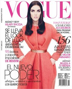 Hilary Rhoda for Vogue Mexico October 2012.