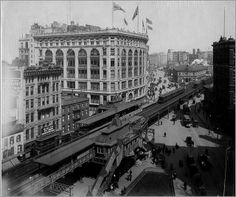 elevated train station images | Elevated Rail Road 1903 | Flickr - Photo Sharing!