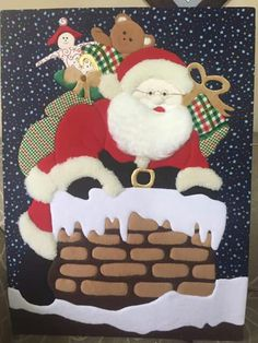 Christmas Art, Christmas Decorations, Felt Crafts, Gingerbread Cookies, Crafts For Kids, Cross Stitch, Quilts, Holiday, Pattern
