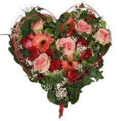 Mother's Day - Floral Heart   Serce Kwiatowe dla Matki