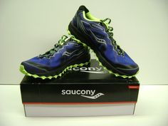Saucony Peregrine 6 Men's TRAIL Running Shoes Size 11 NEW