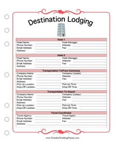Free Printable Wedding Planner More Than  Wedding Planning