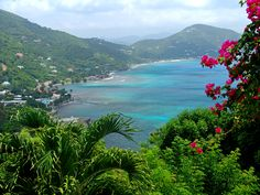 Tortola, British Virgin Islands interior of this island is not that beautiful..but it is responsible for me even entertaining sailing..cause I did not want to stay on Tatorla by myself
