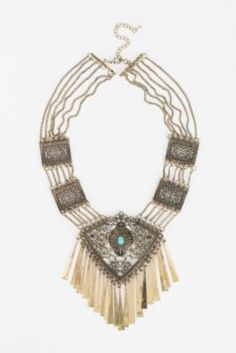 Lagoon Petals Statement Necklace