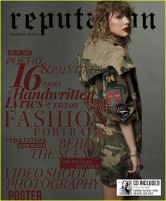 taylor swift reveals reputation magazine covers 01