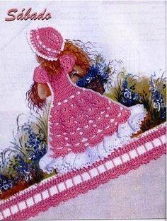 crochet pattern Crinoline Girl Free Patterns