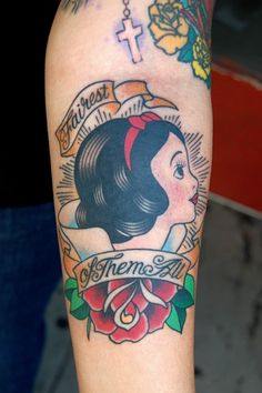 Cool snow white tattoo i found online tattoo