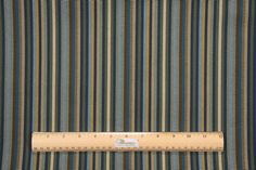 Robert Allen Dexter Stripe Upholstery Fabric in Indigo $18.95 per yard