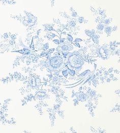 Vintage Dauphine Wallpaper by Ralph Lauren | Jane Clayton