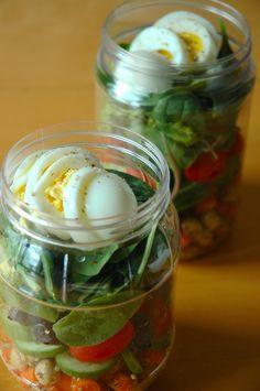 Jar salads!