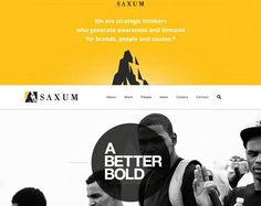 Beautiful white color usage within web design