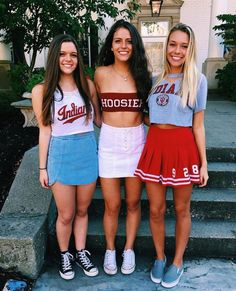 University of indiana bloomington college games, college game days, college parties, college football College Games, College Game Days, College Parties, College Life, College Football, Fall College Outfits, Summer Outfits, Tailgate Outfit, Tailgating Outfits