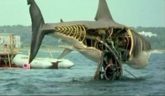 Jaws - made me terrified to swim in our back yard pool, lake, or ANY body of water!     This was like 24 years ago people, not yesterday.
