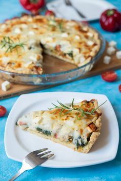 Dinner Tonight, Feta, Catering, Food And Drink, Yummy Food, Cooking, Healthy, Pies, Recipes