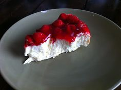 Sugar Free/Low Carb Cherry Cheesecake. Flippin awesome!