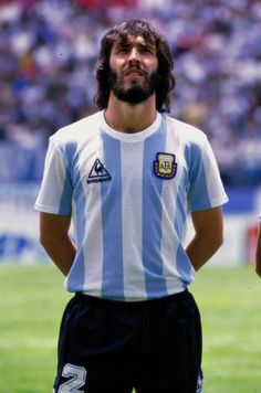 Sergio Batista of Argentina at the 1986 World Cup Finals. Argentina Players, Argentina Football Team, Argentina Soccer, Fifa, National Football Teams, World Cup Final, World Football, Football Players, Champion