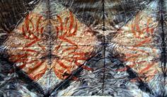 India Flint - colour from leaves Textile Dyeing, Weaving Textiles, Textile Art, India Flint, Collage Drawing, Textile Patterns, Shibori, Fiber Art, Art Projects