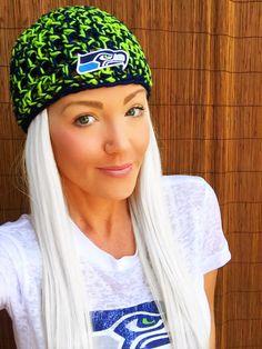 Seattle Seahawks Hat Hair Cap Earwarmer Accessory Band Hawks Fashion Blue Green Women Girl Men Football Head Adult Teen by HillnTrees on Etsy https://www.etsy.com/listing/242626757/seattle-seahawks-hat-hair-cap-earwarmer