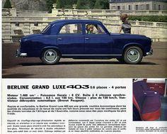 Puis il a eut cette Peugeot 403,en beige.On partait en vacances, de nuit ,å Bénodet