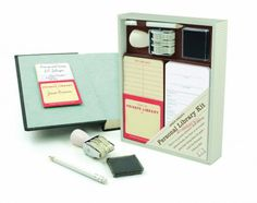 Personal Library Kit and other amazing gifts for book lovers
