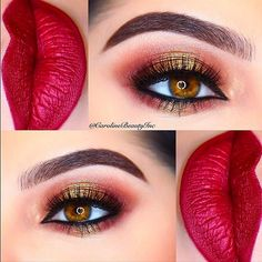 #DOUBLETAP & TAG your #Makeup Bestie ❤️Valentine's Date Night Look   #carolinebeautyinc ____________________________________________  @hudabeauty @shophudabeauty #hudabeautyrosegoldpalette eyeshadows  @eden.cosmetics Forbidden Liquid Lipstick  @benefitcosmetics Precisely, My Brow Pencils in shades 3 & 5  @anastasiabeverlyhills Clear Brow Gel  @urbandecaycosmetics 24/7 Glide-On Eyeliner in Zero  @eyerisbeauty Liberty Eyelashes  @toofaced Better than Sex Mascara  @makeupfo...