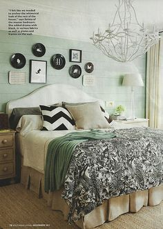 our master. designed by seleta hayes howard.  luscious duvet from traceryinteriors.com