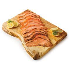 Hot-Smoked Irish Salmon Trio By Burren Smokehouse Tasty, Yummy Food, Smokehouse, Larder, Salmon, Seafood, Dean, Hot, Ethnic Recipes