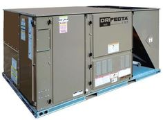 Ideal-Air DriFecta 5 Ton Packaged Commercial Air Conditioner Electric/Electric 20 kW Heat 208/230V 3Ph 60Hz