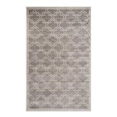 Shop Safavieh  8-ft x 10-ft Amherst Grey Rectangular Indoor/Outdoor Machine-Made Area Rug at Lowe's Canada. Find our selection of  at the lowest price guaranteed with price match + 10% off.