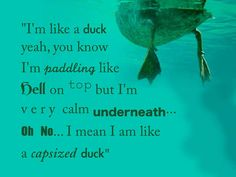 Capsized Duck, Cabin Pressure Quote by ~kerrymcquaid on deviantART