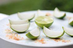 Lime in the Coconut Jello Shots