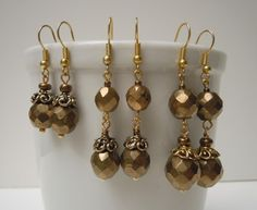 Earrings -  shows how easy it is to expand your idea to fit the personality of friends, family, or buyers