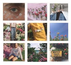 """Soft Flowers"" by mickjaggerismydrug ❤ liked on Polyvore featuring art"