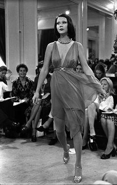 1972  - Yves Saint Laurent - Haute Couture