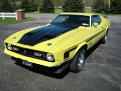 1971 Ford Mustang Mach 1 - repined by http://www.motorcyclehouse.com/ #MotorcycleHouse