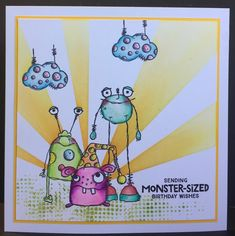 That's Blogging Crafty!: Monster Birthday by Amanda Southern