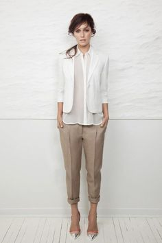 chic neutrals for office outfit to try this summer