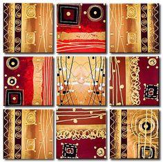 Piezas de acrílico abstracto pintura espátula por AdrianaMontgomery