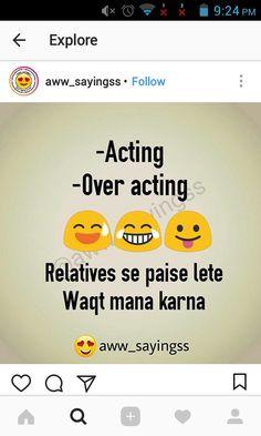 Mujhe bhi mane chashma utar kar weight karne ki sochi or kuch dikha hi nai😎 Funny Jokes In Hindi, Funny School Jokes, Funny Qoutes, Some Funny Jokes, Funny Quotes For Teens, Crazy Funny Memes, Funny Quotes About Life, Really Funny Memes, Jokes Quotes