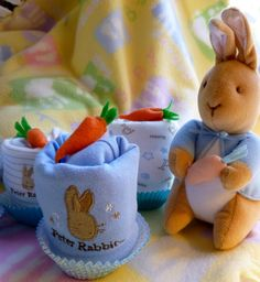 Peter Rabbit Beatrix PotterSpeciality Onesie by mollbelldesigns, $9.95
