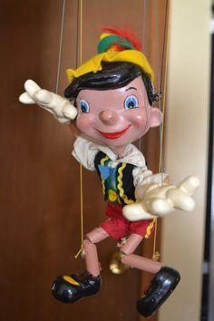 Vintage Pinocchio Pelham Puppet Marlborough by VintagewithSoul