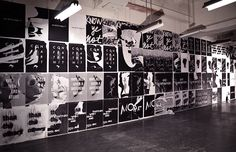 A 700sq/ft wall mural created to accompany the Byronesque Offline fashion retrospective in New York, December 2013.