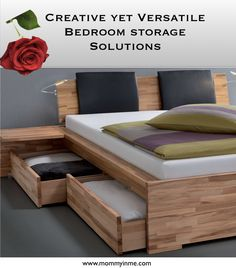 likable storage beds nyc inspiration pinteres from Solid Wood Platform Bed With StorageSolid Wood Platform Bed with Sto Build A Platform Bed, Solid Wood Platform Bed, Bed Frame With Drawers, Platform Bed With Drawers, Cama King, Cama Queen, Diy Furniture Hacks, Bedroom Furniture, Furniture Decor